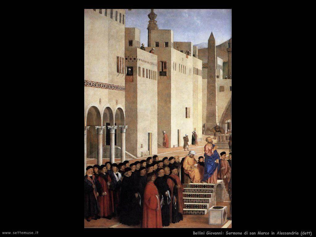 Sermone di san Marco ad Alessandria (dett)