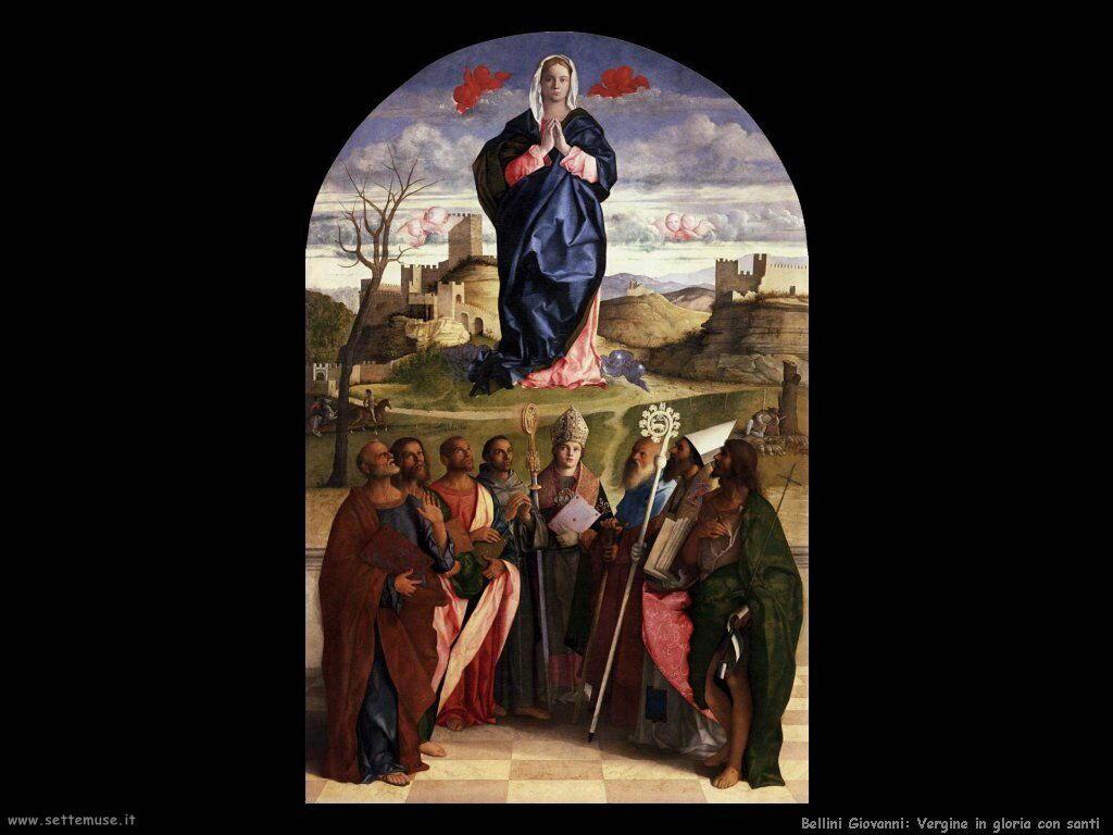 Vergine in gloria con santi