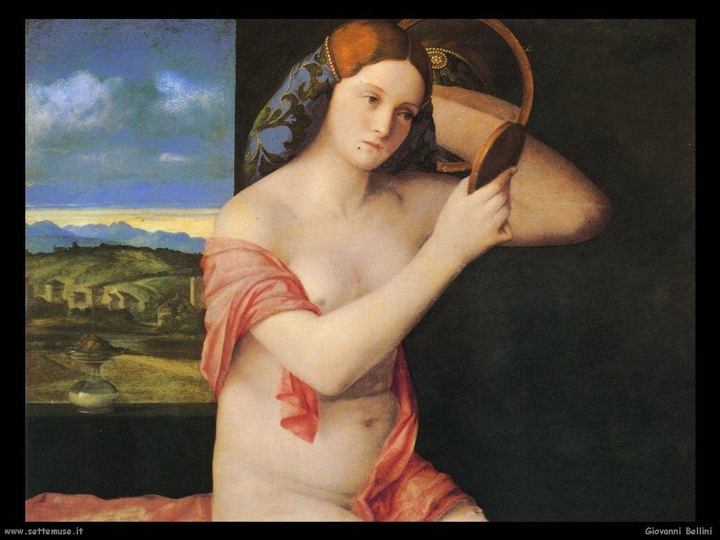 Giovanni Bellini Giovane donna alla toilette