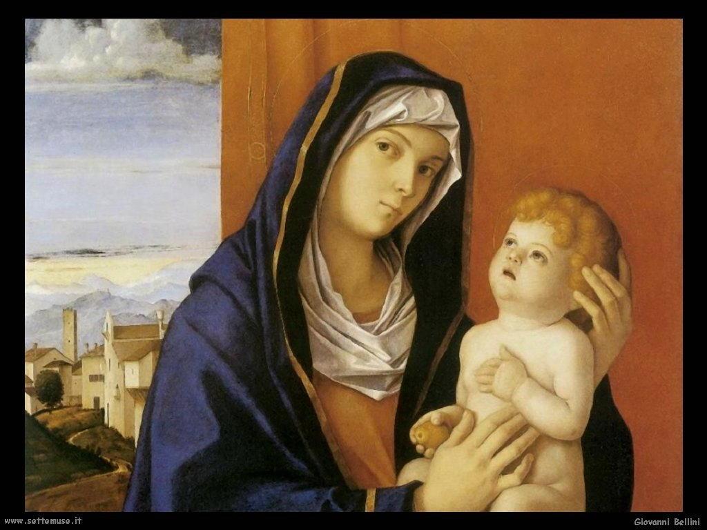 Giovanni Bellini Madonna con Bambino