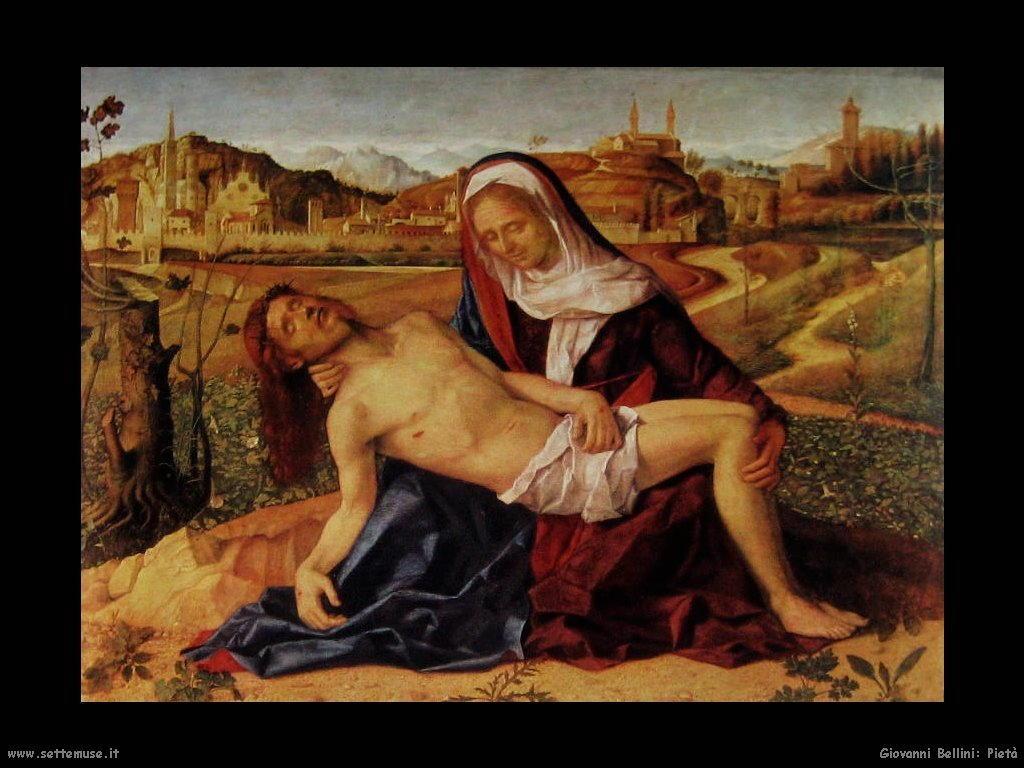 Giovanni Bellini Pietà