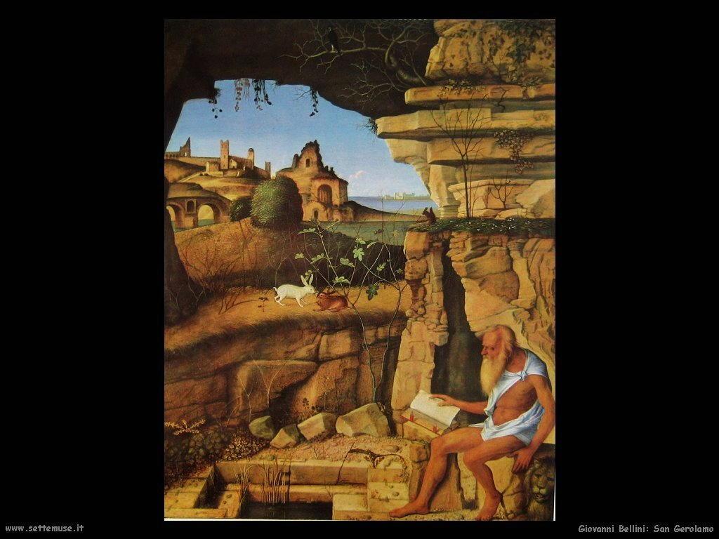 Giovanni Bellini San Girolamo in lettura (1490)