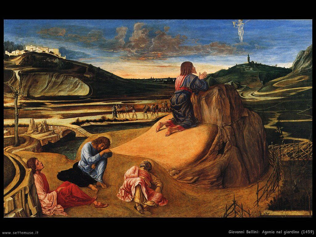 giovanni bellini Agonia nel giardino (1459)