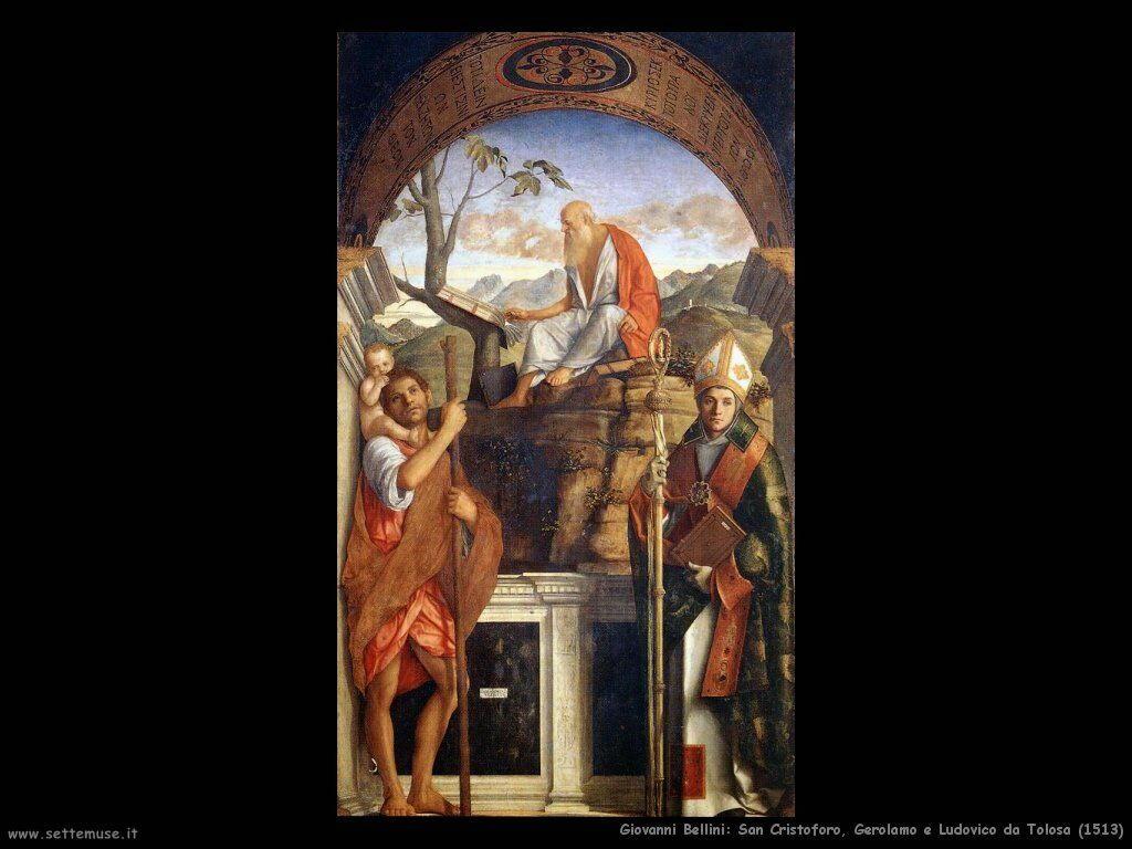 San Cristoforo, Gerolamo e Ludovico da Tolosa (1513)
