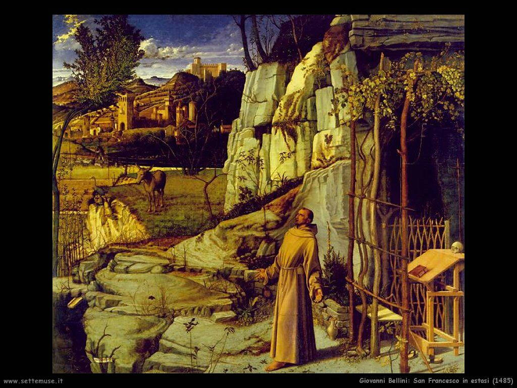 giovanni bellini San Francesco in estasi (1485)