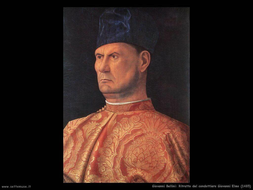 Ritratto di condottiero, Giovanni Elmo (1485)
