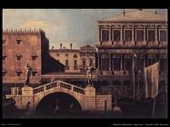 bellotto bernardo Capriccio, ponte della Pescaria Venezia