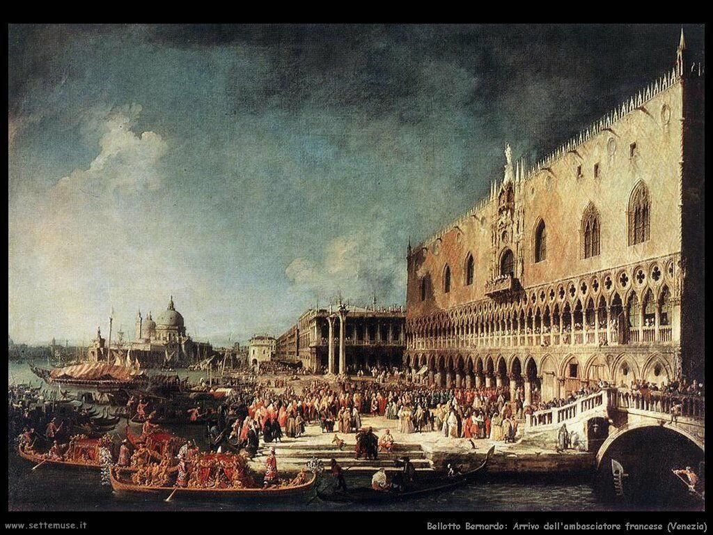 Arrivo dell'ambasciatore francese a Venezia
