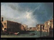 Il Canal Grande dal ponte di Rialto Venezia