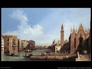 bellotto bernardo Canal Grande da santa Maria Venezia