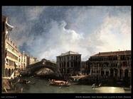 Canal Grande vicino al ponte di Rialto Venezia