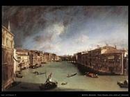 bellotto bernardo Canal Grande nord est Venezia