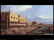 bellotto bernardo Riva degli Schiavoni verso est Venezia