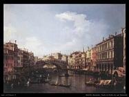 Ponte di Rialto da sud Venezia