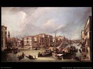 bellotto bernardo Canal Grande verso nord est Venezia
