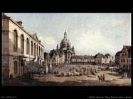 Bellotto Canaletto Nuova piazza del Mercato, Dresda