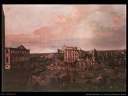Dresda le rovine di Pirnaisch
