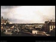 Vienna, panorama dal palazzo Kaunit
