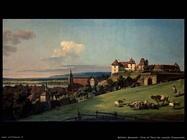 Il Pirna visto dal castello Sonnenstein