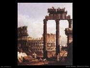 Capriccio col Colosseo Roma