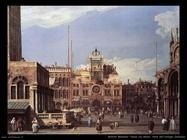 Piazza san Marco torre dell'Orologio