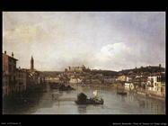 Verona e il fiume Adige (1747)