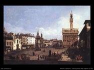 Firenze piazza signoria 1742