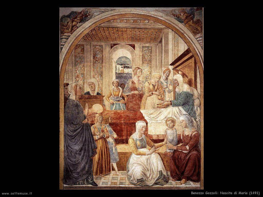 Nascita di Maria (1491)