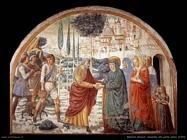 Incontro alla porta aurea (1491)
