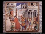La scuola di Tagaste -scena- (1465)