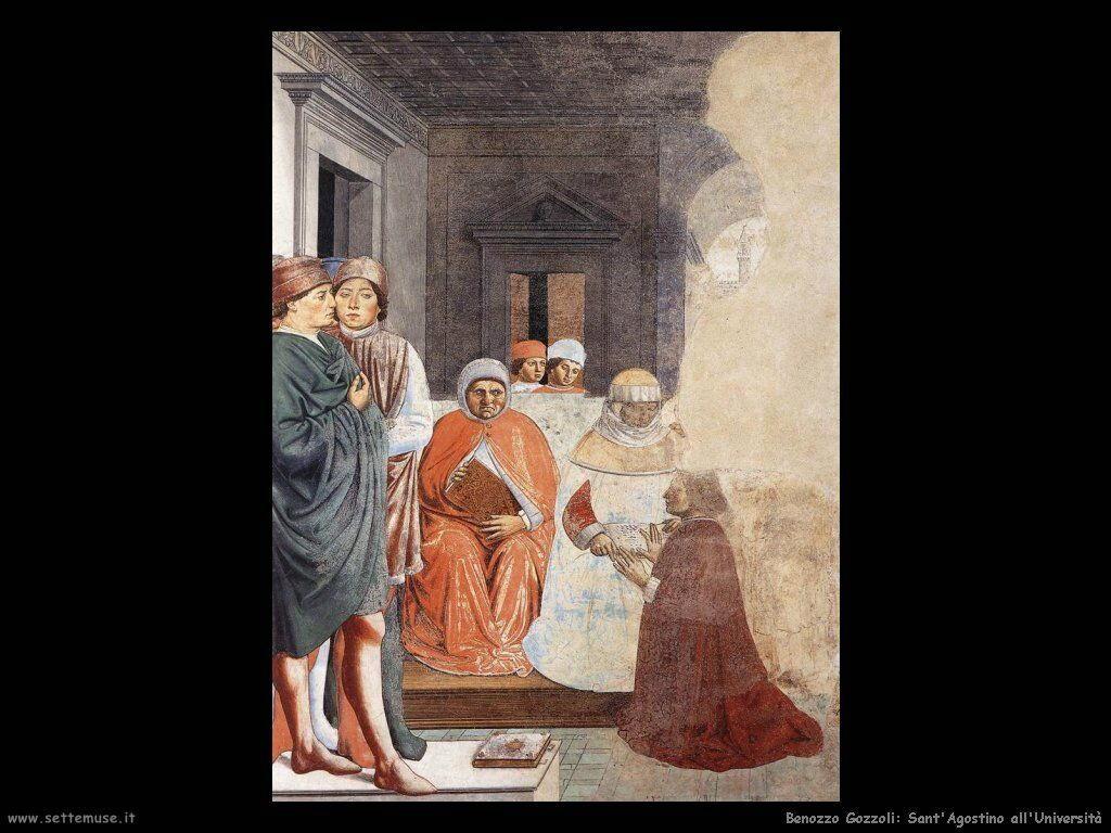 Sant'Agostino all'università