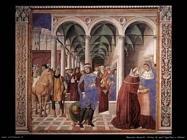 Arrivo di sant'Agostino a Milano