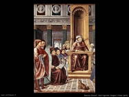 Sant'Agostino insegna a Roma (dett)