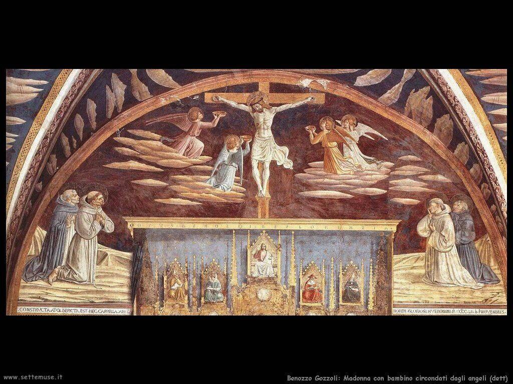 Madonna con bambino e santi (dett)