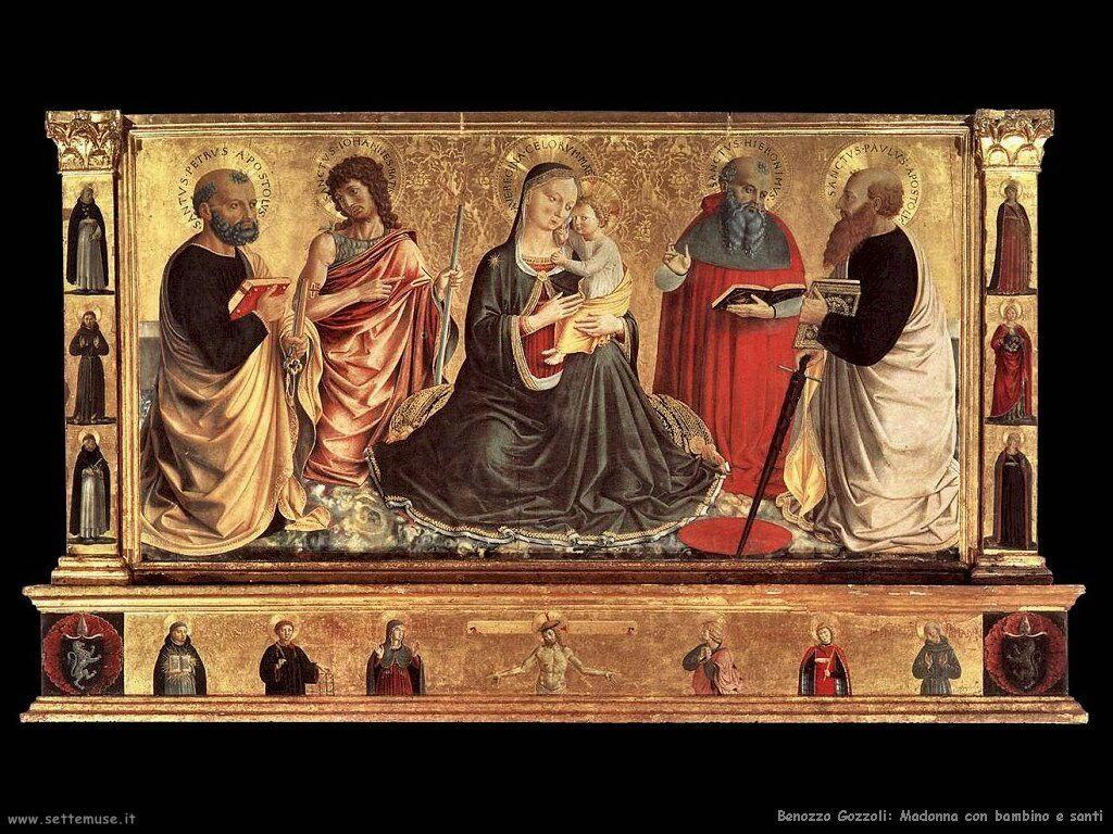 Madonna con bambino e san Giovanni
