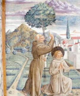 Pittura di Benozzo Gozzoli
