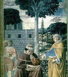 Dipinto di Benozzo Gozzoli