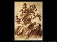 Studio statua equestre di Luigi XIV Gian Lorenzo Bernini