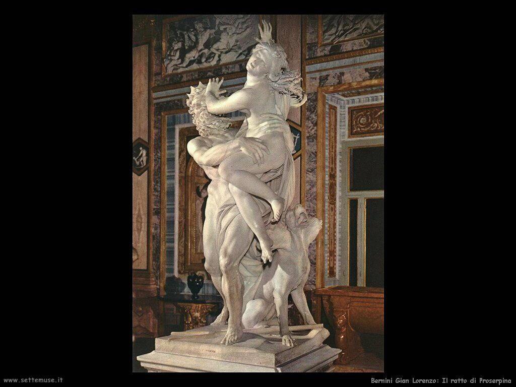 Ratto di Proserpina Gian Lorenzo Bernini