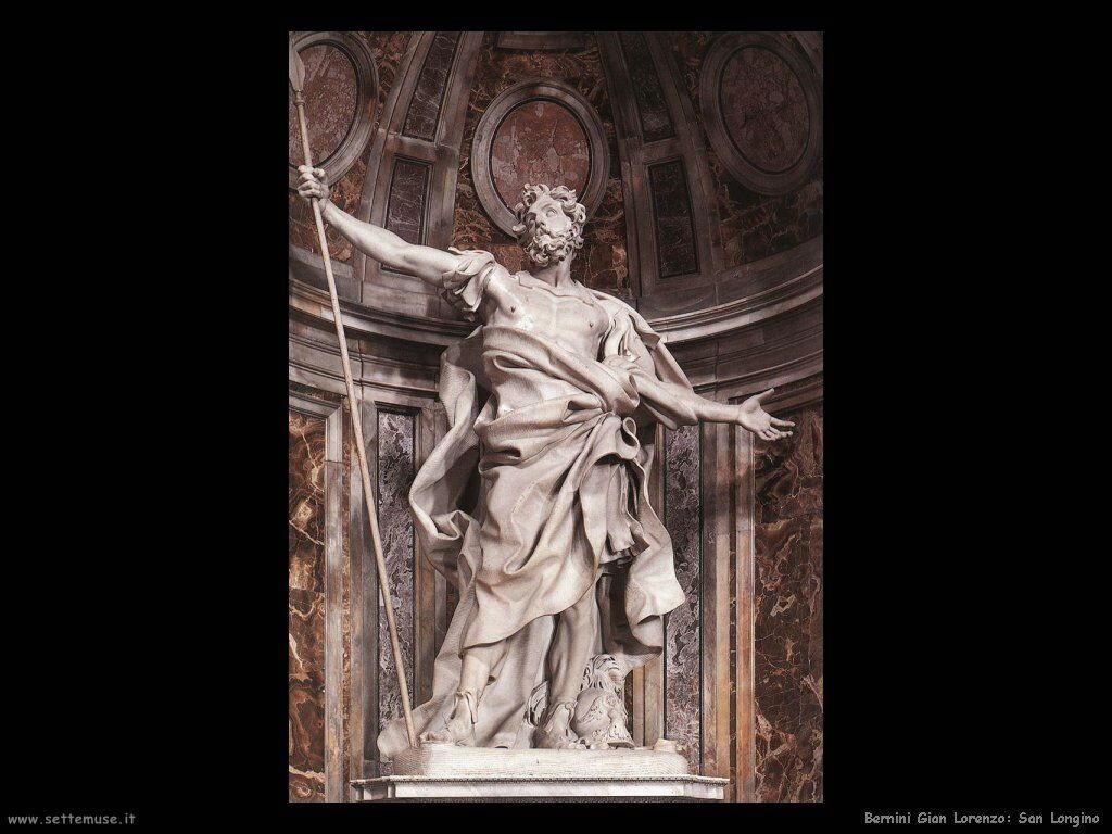 San Longinus Gian Lorenzo Bernini