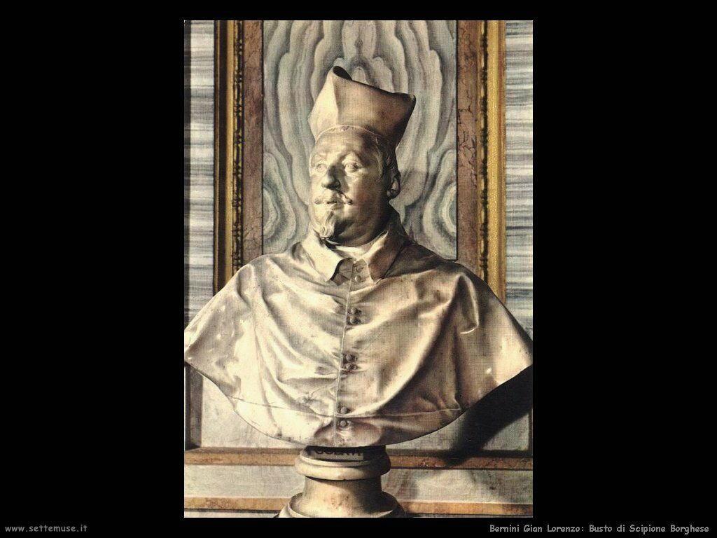 Busto di Scipione Borghese Gian Lorenzo Bernini