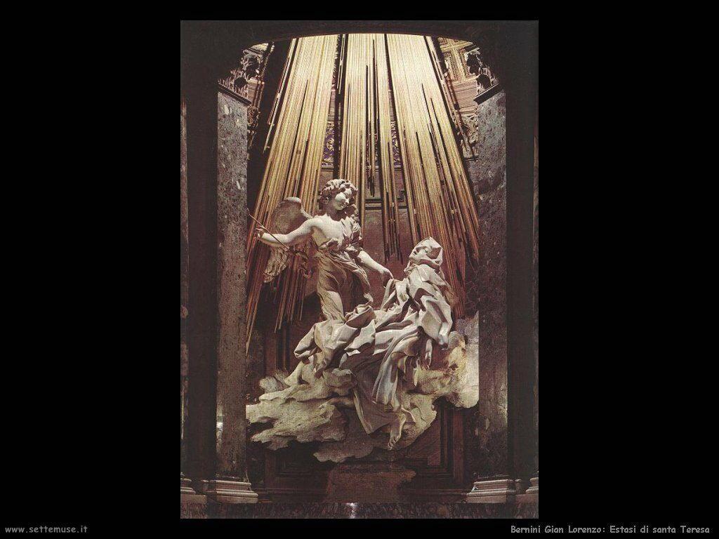 Bernini Estasi di santa Teresa