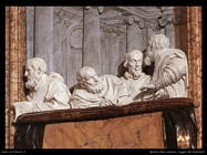 Loggia dei fondatori Gian Lorenzo Bernini