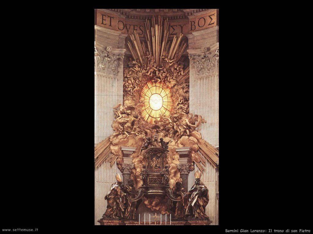 Trono di san Pietro Gian Lorenzo Bernini