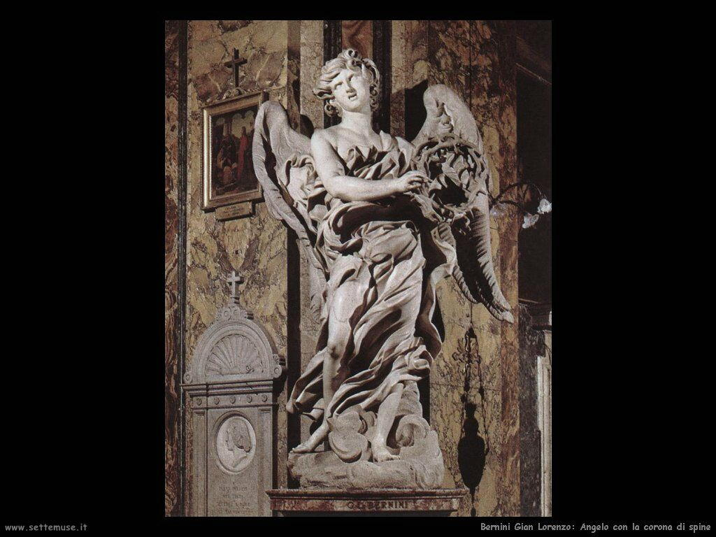 Angelo con corona di spine Gian Lorenzo Bernini