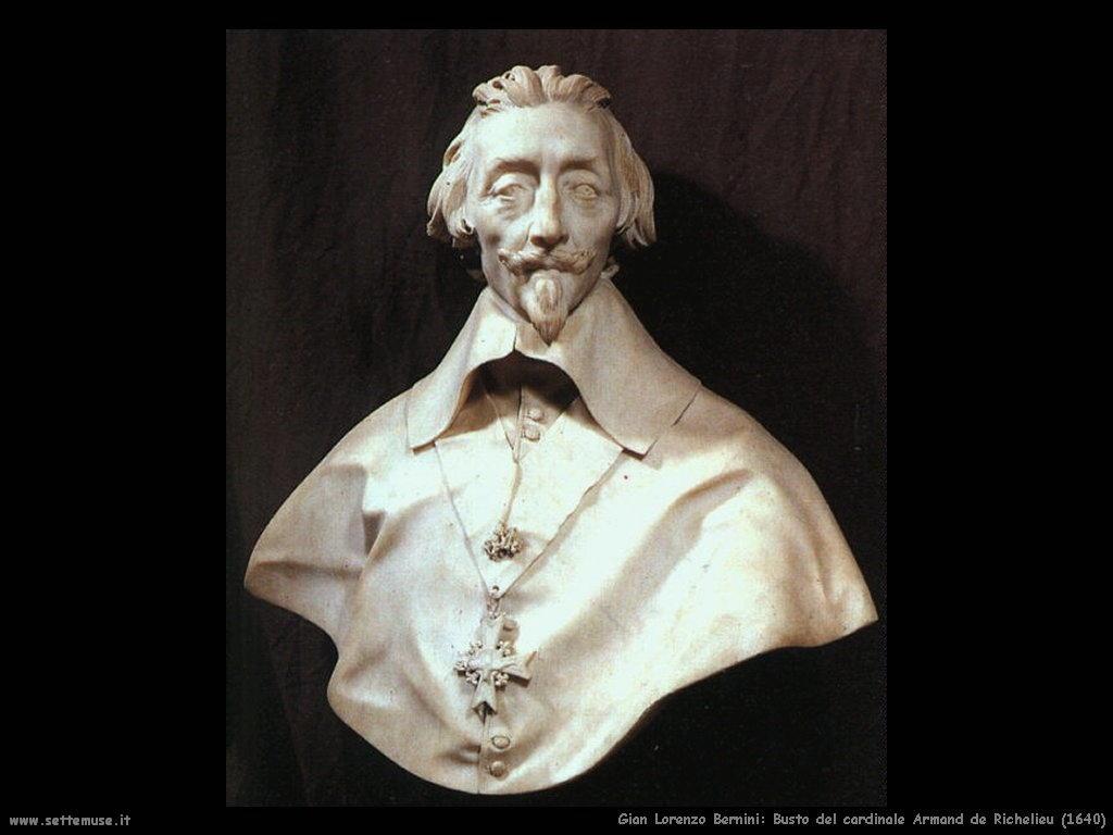 Busto del cardinale Armand de Richelieu (1640) Gian Lorenzo Bernini