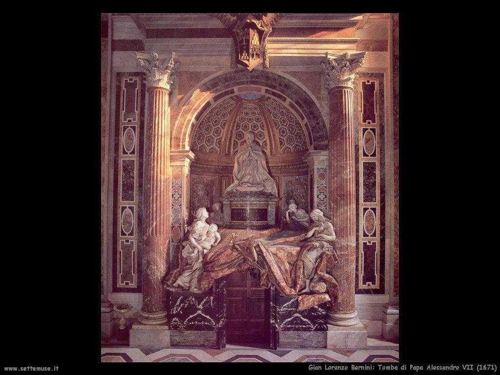 Tomba di papa Alessandro VII (1671) Gian Lorenzo Bernini