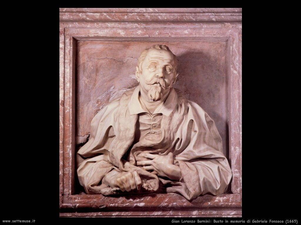Busto in memoria di Gabriele Fonseca (1665) Gian Lorenzo Bernini