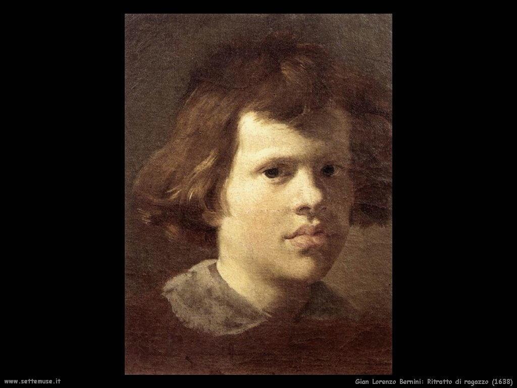 Ritratto di ragazzo (1638) Gian Lorenzo Bernini