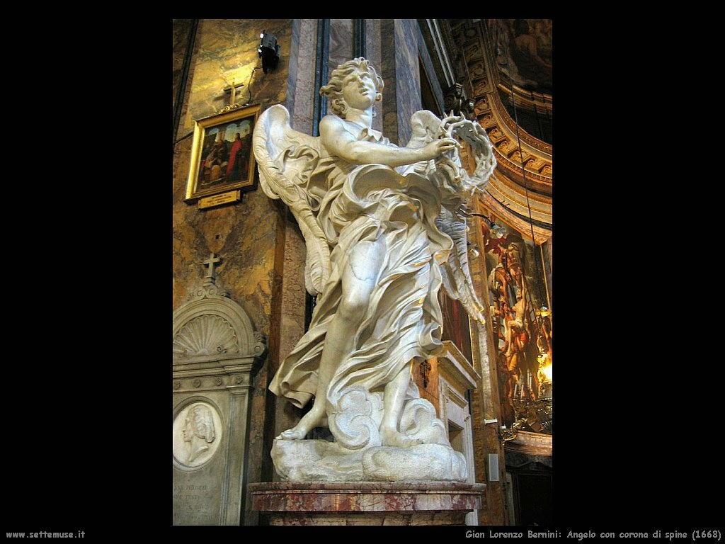 Gian Lorenzo Bernini Angelo con corona di spine (1668)